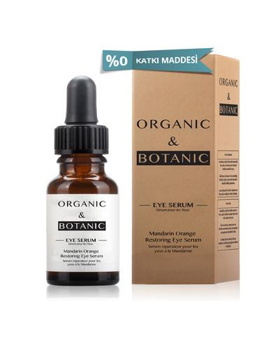 Organic ORGANIC BOTANIC SERUM GÖZ ONARICI MAND.PORT.15ml Renksiz